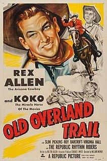 <i>Old Overland Trail</i> 1953 film by William Witney