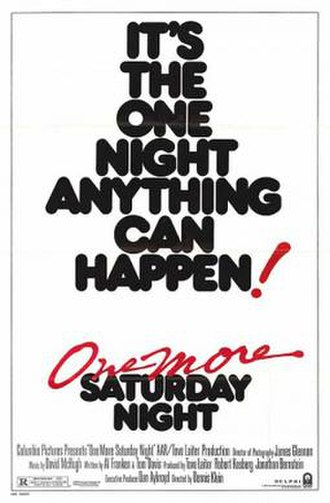 One More Saturday Night (film) - Theatrical release poster