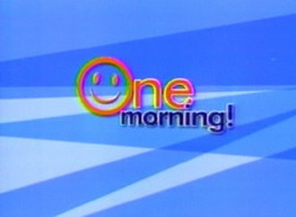 One Morning Cafe - Logo used from 2007 to 2009.