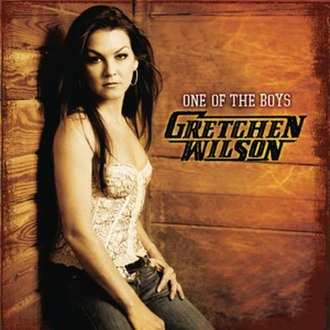 One of the Boys (Gretchen Wilson album) - Image: Ootbgw