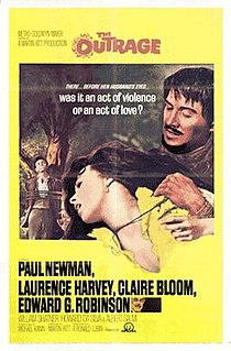 1964 American western movie remake of Rashomon directed by Martin Ritt