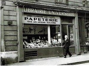 Pierre Brossolette - Bookstore at Rue de la Pompe