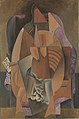 Pablo Picasso, 1913-14, Woman in a Chemise in an Armchair, oil on canvas, 149.9 x 99.4 cm, Metropolitan Museum of Art.jpg
