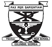 Pacelli high school columbus ga logo.jpg
