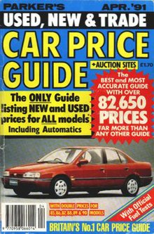 parker s car guides wikipedia rh en wikipedia org Used Car Price Guide Free Collector Car Price Guide