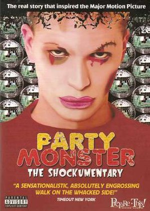 Party Monster: The Shockumentary - DVD cover