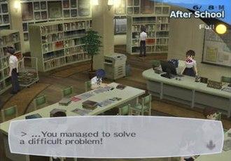 Shin Megami Tensei: Persona 3 - Image: Persona 3library