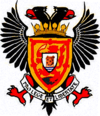 Coat of arms of Perth and Kinross Pairth an Kinross Peairt agus Ceann Rois
