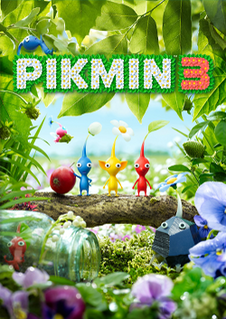 <i>Pikmin 3</i> real-time strategy video game