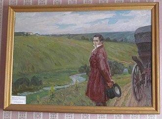 Alexander Alekseevich Durnovo - Alexander Griboedov visiting Sister
