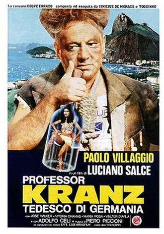 Professor Kranz tedesco di Germania - Film poster