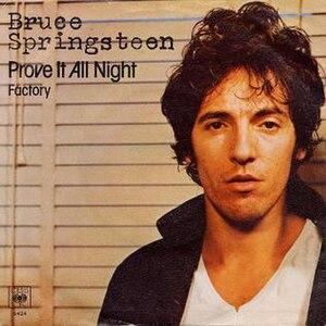Prove It All Night - Image: Prove It All Night