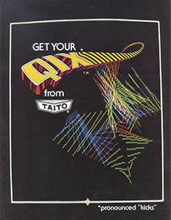 <i>Qix</i> 1981 puzzle video game published by Taito