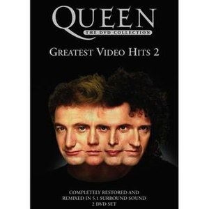 Greatest Video Hits 2 - Image: Queen gvh 2