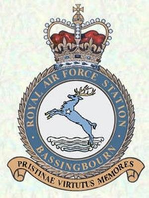 RAF Bassingbourn - Bassingbourn RAF Station Crest