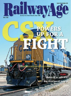Railway Age - May 2008 issue