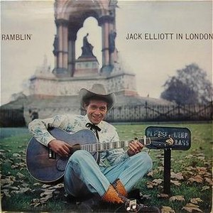 Ramblin' Jack Elliott in London