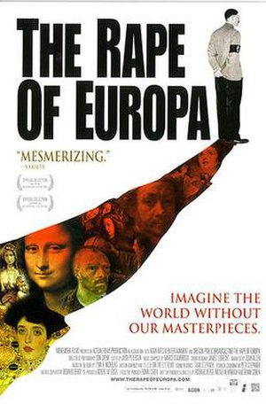 The Rape of Europa (book) - theatrical poster