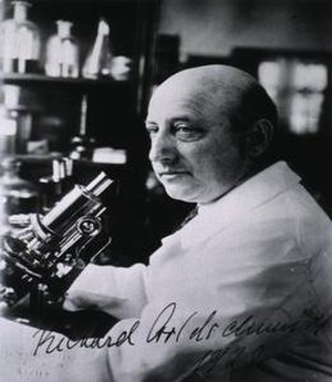Richard Goldschmidt - In his laboratory