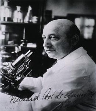 Richard Goldschmidt - In his laboratory