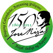 the national historical institute logo for the 150th birth anniversary of jos rizal