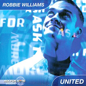 United (Robbie Williams song) - Image: Robbie Williams United