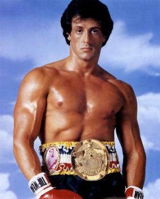 Rocky Balboa - Sylvester Stallone as Rocky Balboa
