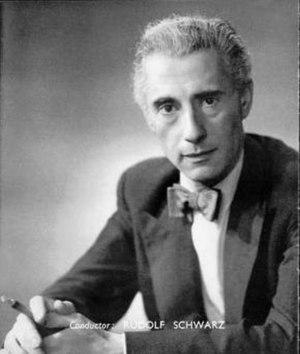 Rudolf Schwarz (conductor) - Rudolf Schwarz