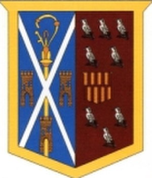 St Cuthbert's High School - Image: Schs School badge