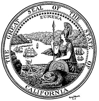 Great Seal of California - Marc J. Rowe's interpretation of the Seal of California