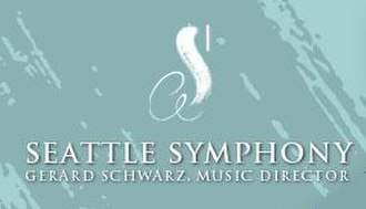 Seattle Symphony - Former Seattle Symphony logo under Gerard Schwarz.