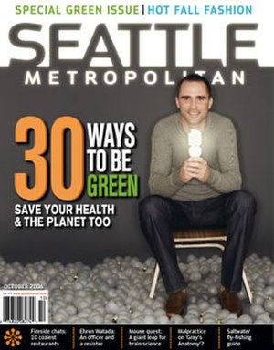 Seattle Metropolitan - Seattle Met cover, October 2006