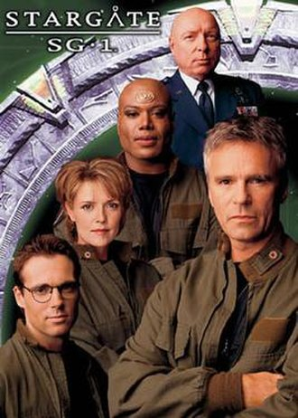 Stargate - The original starring cast of Stargate SG-1.