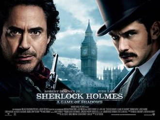 Sherlock Holmes: A Game of Shadows - Theatrical release poster