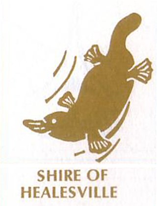 Shire of Healesville - Image: Shire of Healesville Logo