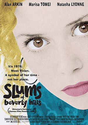 Slums of Beverly Hills - Theatrical release poster