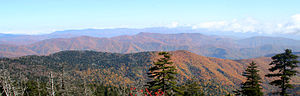 The Great Smoky Mountains National Park provid...