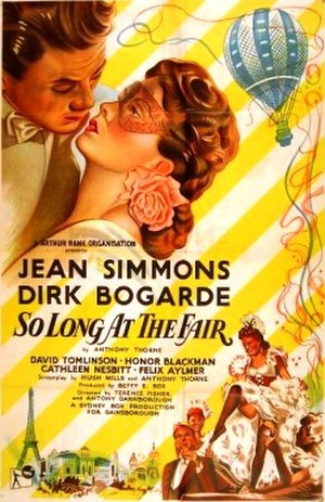 So Long at the Fair - Theatrical release poster