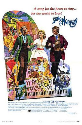 Song of Norway (film) - 1970 Theatrical Poster
