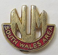 South Wales Area of the National Union of Mineworkers logo.jpg