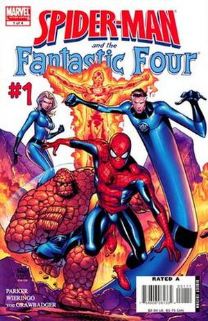 Spider-Man and the Fantastic Four - Image: Spide Man & FF 01 cover