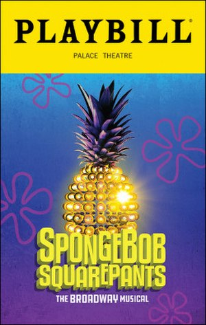 SpongeBob SquarePants (musical) - Playbill of the Broadway production