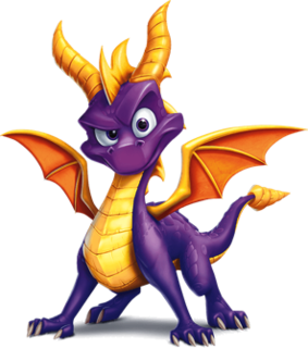Spyro (character) Video game character