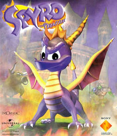 Picture of a game: Spyro The Dragon