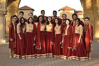 Stanford Raagapella - Stanford Raagapella on Stanford's Main Quad