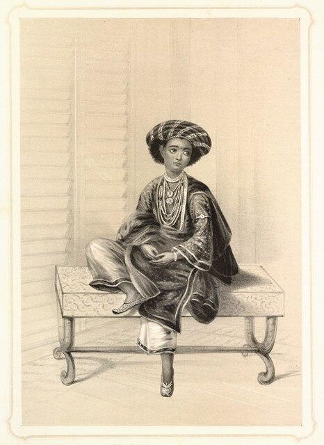 Student hindoo college calcutta1844