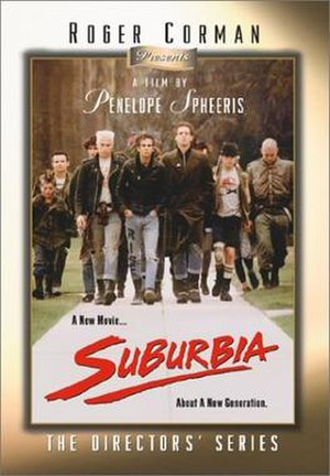 Suburbia (film) - Video release cover