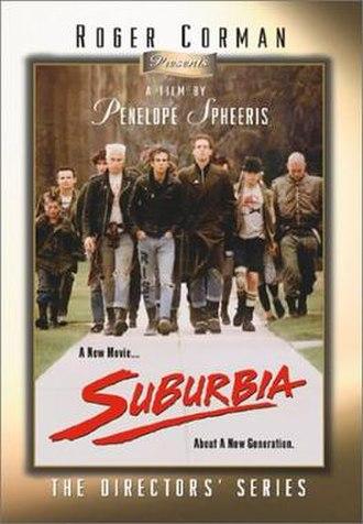 Suburbia (film) - Video release cover