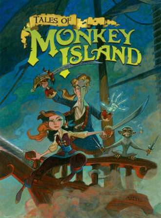 Tales of Monkey Island - Cover artwork by Steve Purcell