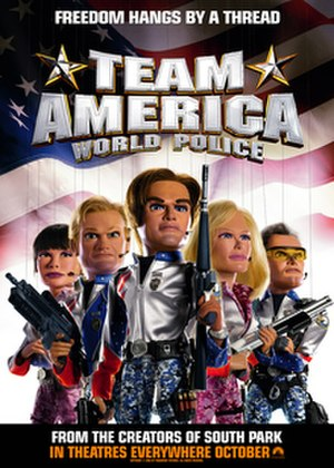 Team America: World Police - Theatrical release poster
